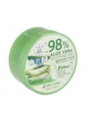 Универсальный гель алоэ 98%  для лица и тела Aloe Vera (Purity 98%)