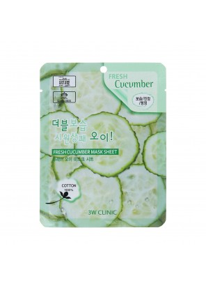 Тканевая маска для лица с огурцом Fresh Cucumber Mask Sheet