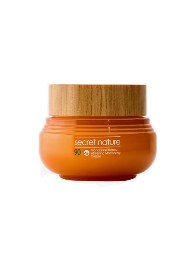 Крем для лица с экстрактом мандарина и прополиса Mandarine Honey Whitening Moisturizing Cream
