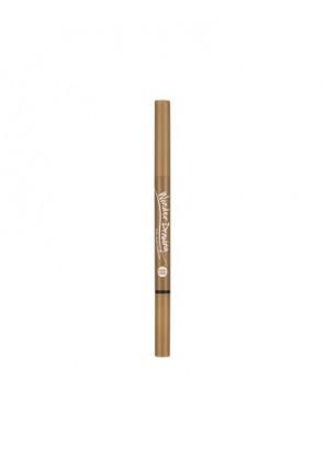 Автоматический карандаш для бровей с щеточкой, светло-коричневый